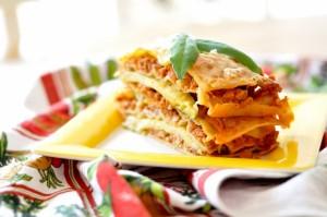Lasagne z grillowaną cukinią