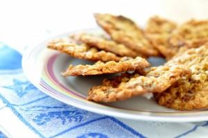 Ciasteczka owsiane z pszennymi zarodkami