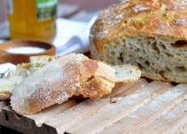 Najprostszy chleb z rozmarynem- World Bread Day 2012