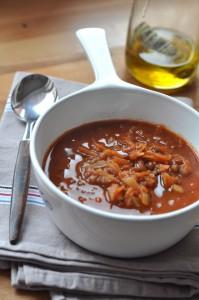 Zimowa zupa z soczewicy