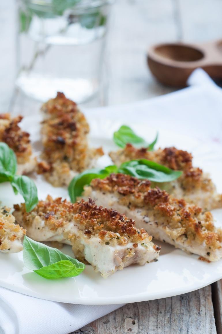 Kurczak z bazyliowo-parmezanową kruszonką (1)