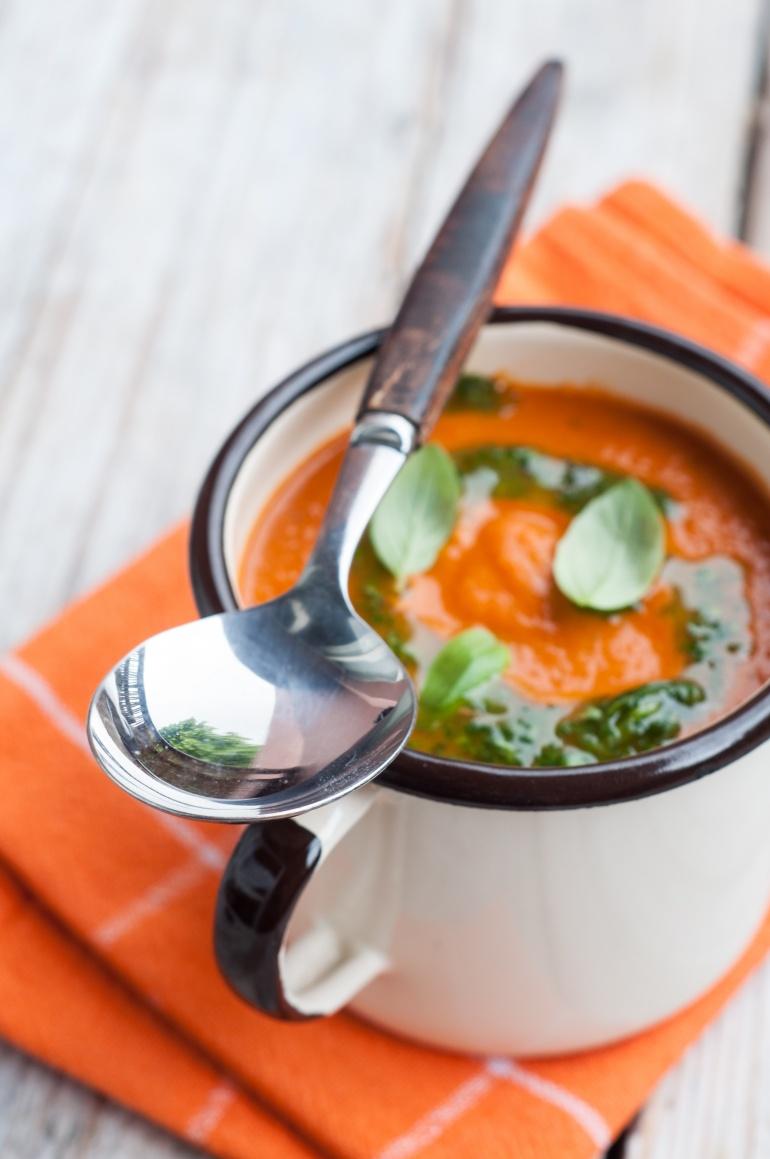 Zupa z pieczonych pomidorów (2)
