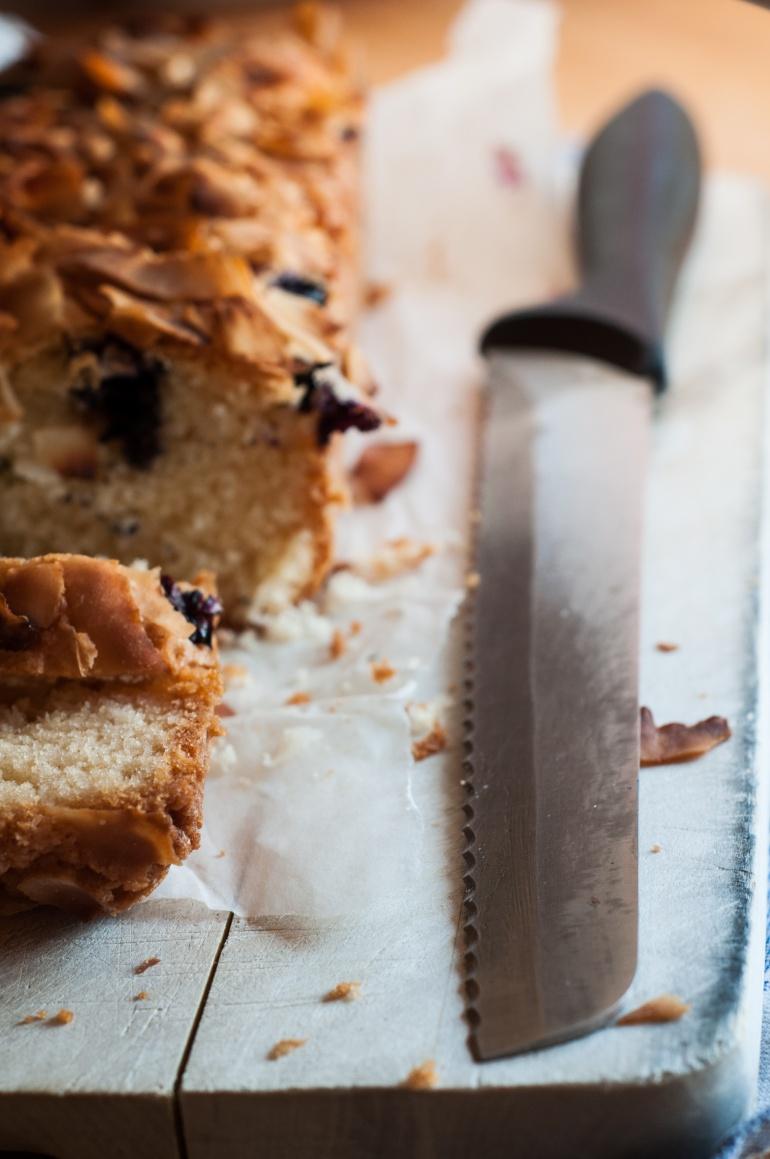Ciasto z jagodami i kokosem (ekspresowe!) (1)