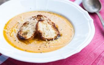 Zupa krem z dyni i marchewki (2)