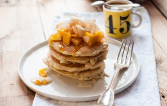 Placuszki z wiórkami i mlekiem kokosowym (kokosowe pancakes) (3)