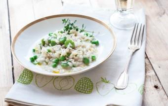 risotto z bobem i groszkiem (6)