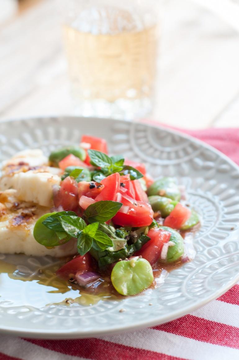 sałatka z bobu i pomidorów (2)