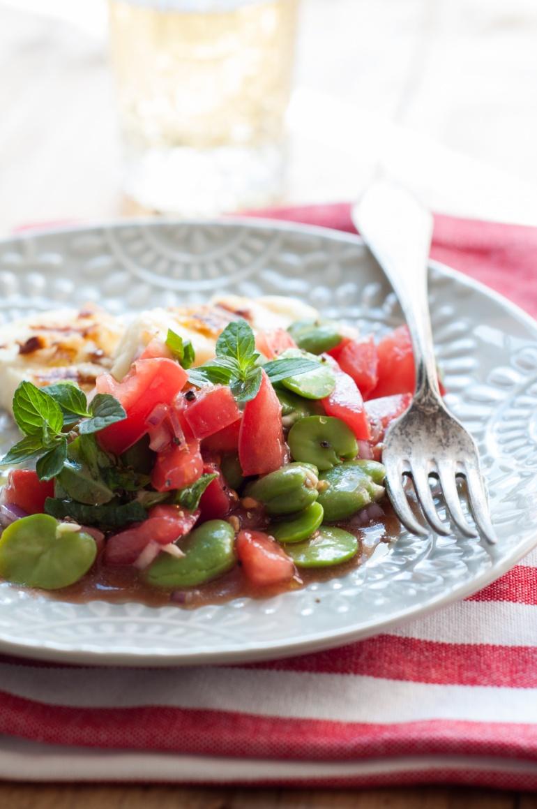 sałatka z bobu i pomidorów (4)