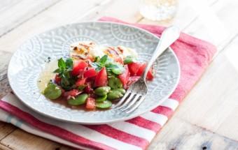 sałatka z bobu i pomidorów (5)