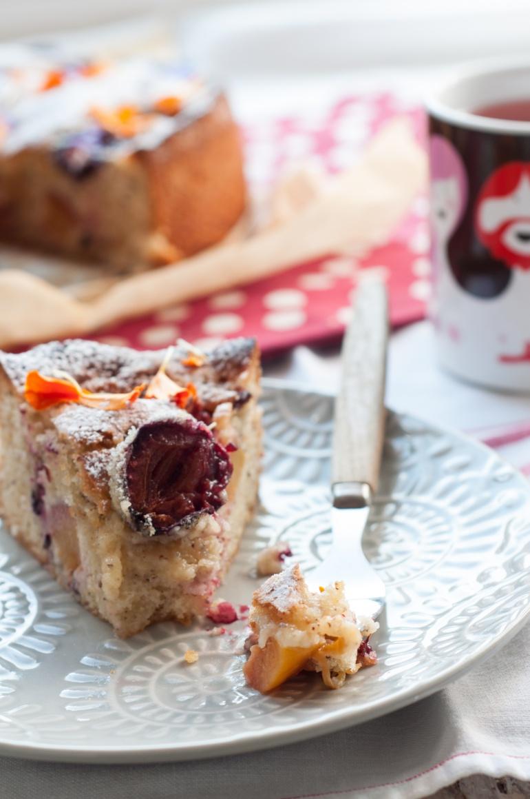 orzechowe ciasto ze śliwkami (4)