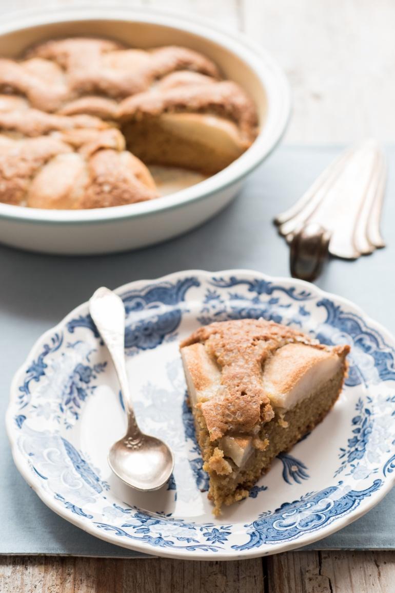 cynamonowe ciasto z gruszkami (4)