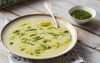 Zielona zupa warzywna (1)