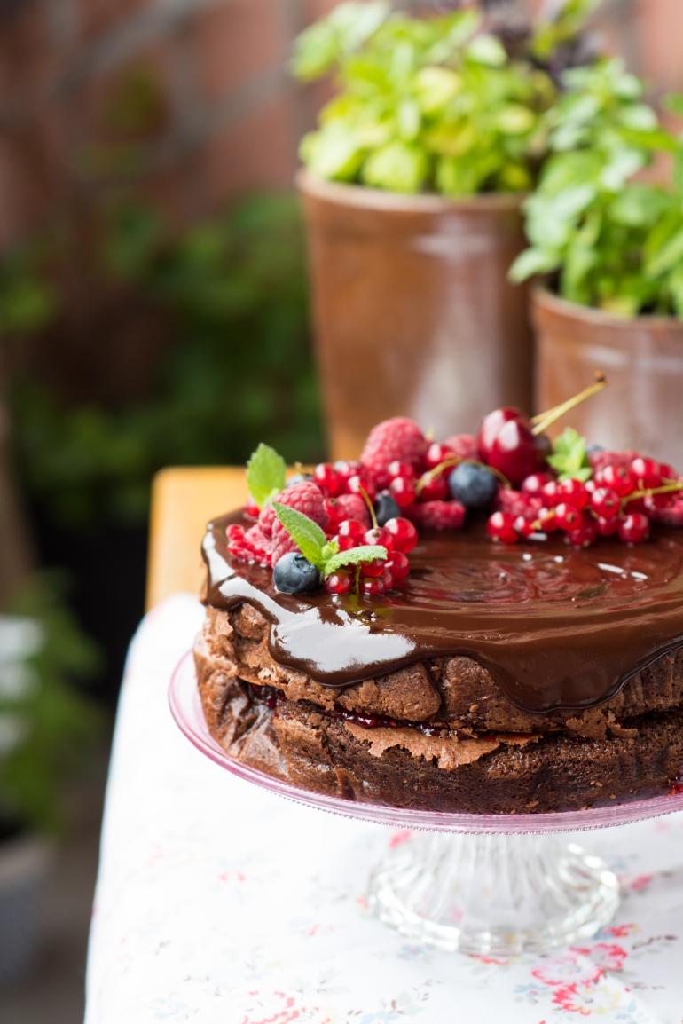 czekoladowe ciasto migdałowe (5)
