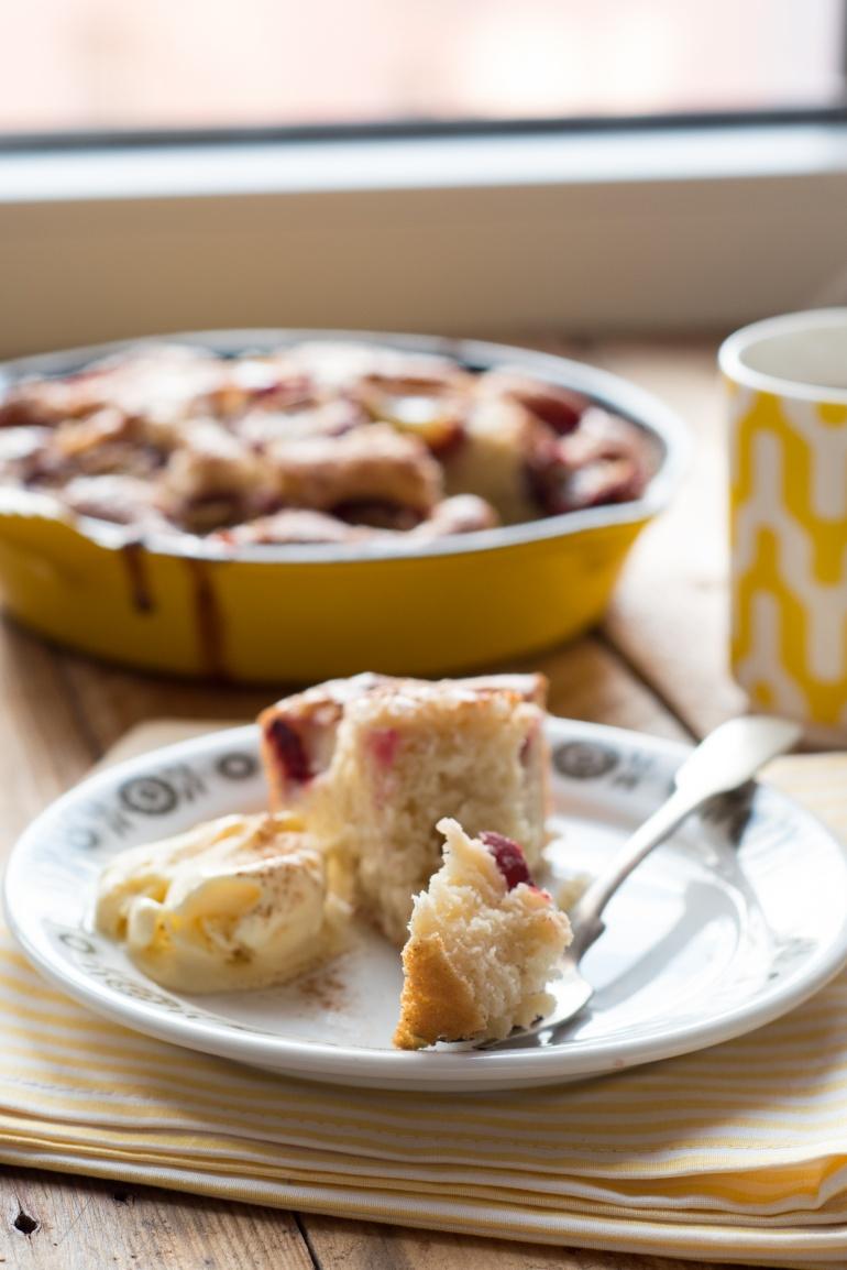ciasto z żeliwnej patelni (4)