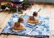 Klopsiki z sosem paprykowo-sezamowym (na imprezę)