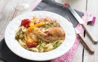 makaron z kurczakiem i warzywami (6)