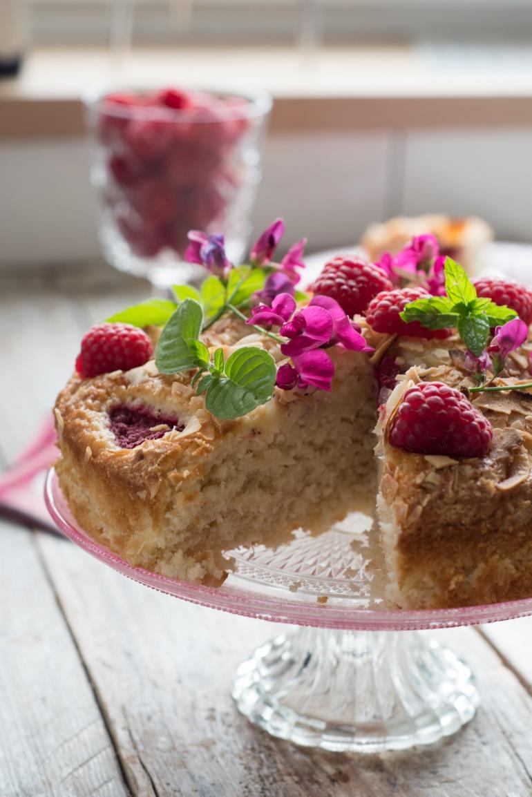ciasto kokosowe z malinami bez tłuszczu kuchnia agaty (2)