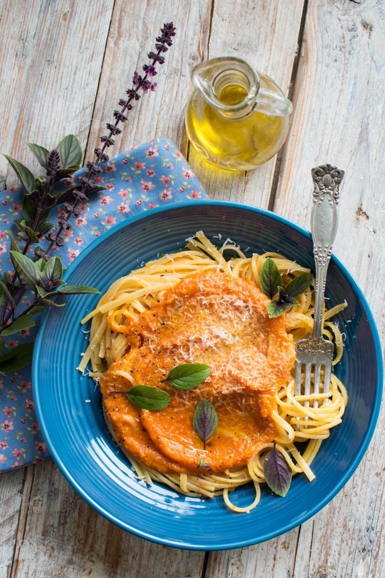 sos z pieczonej dyni i pomidorów kuchnia agaty (3)