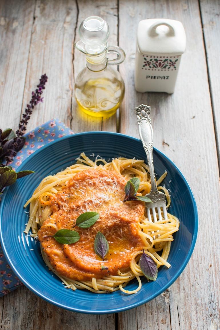 sos z pieczonej dyni i pomidorów kuchnia agaty (4)