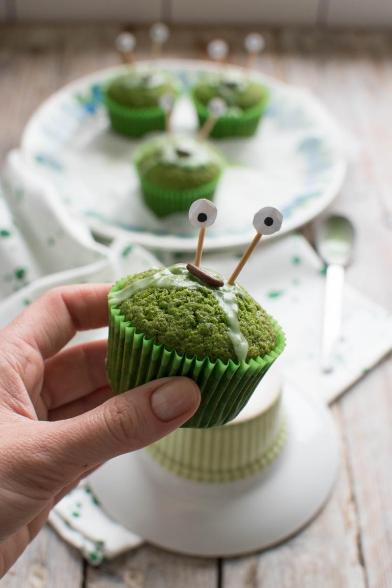 zielone babeczki szpinakowe na halloween kuchnia agaty (3)