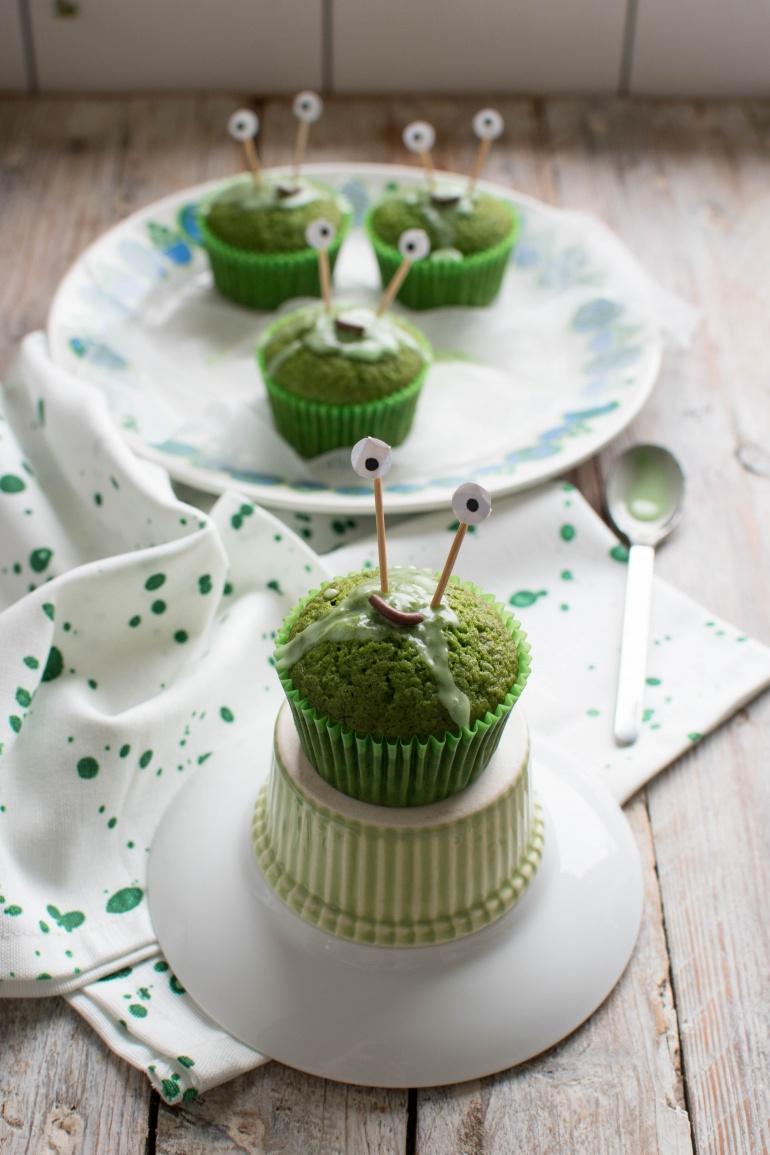 zielone babeczki szpinakowe na halloween kuchnia agaty (4)