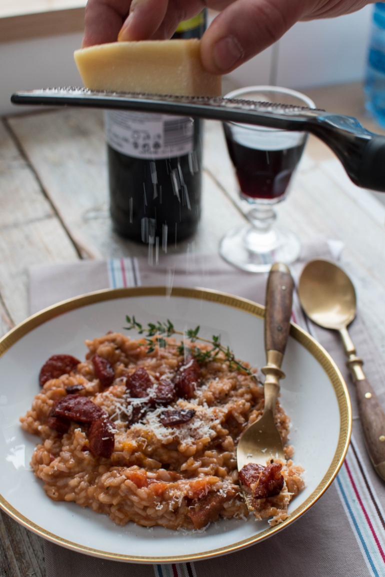 risotto z chorizo i czerwonym winem kuchnia agaty (3)