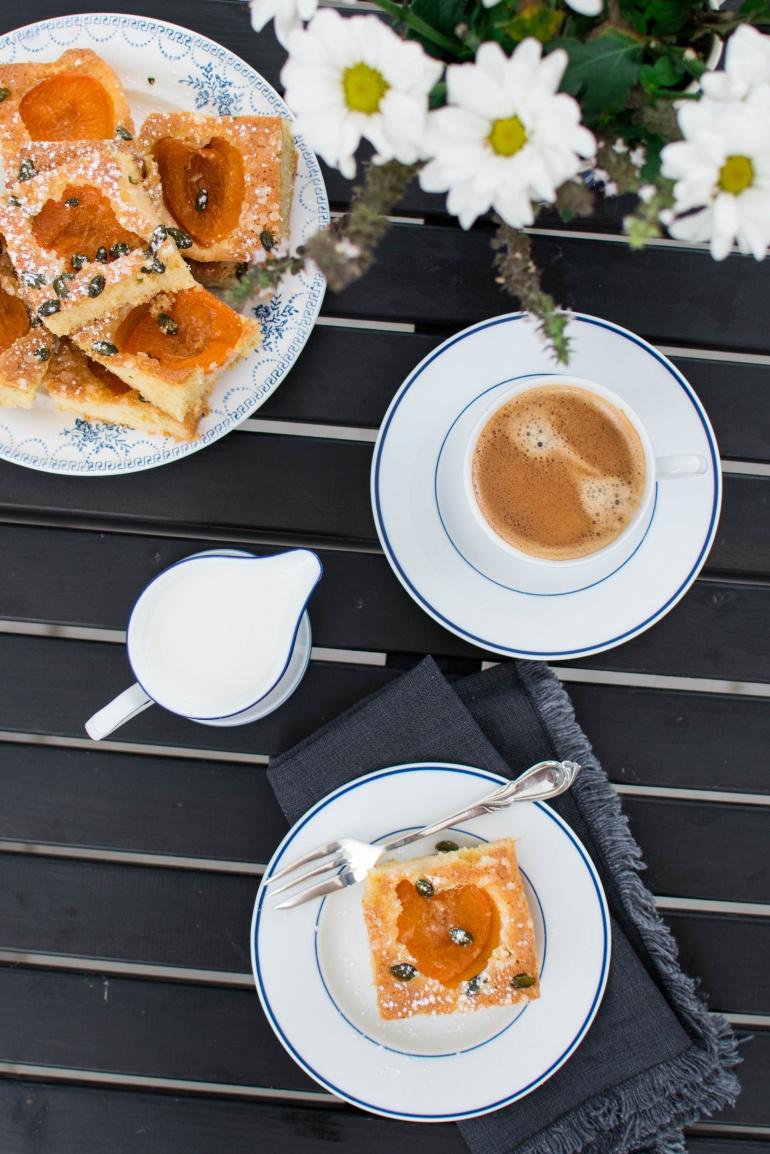 Placek Z Morelami I Pistacjami Kuchnia Agaty