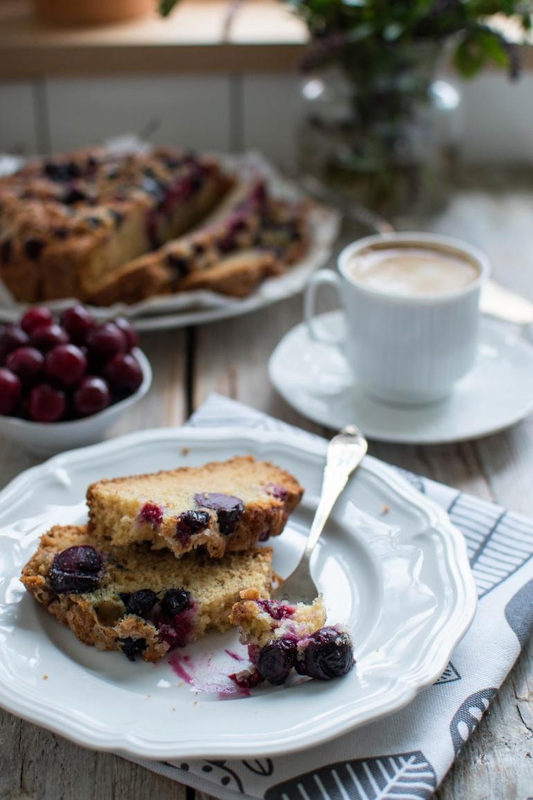 Ciasto Z Wiśniami Albo Co Tam Za Owoce Masz Pod Ręką