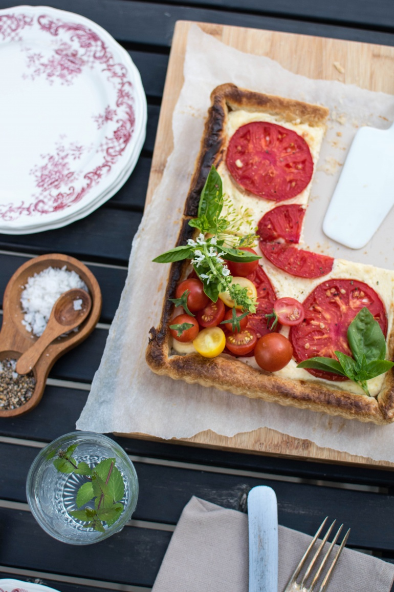 Serowa Tarta Z Pomidorami Kuchnia Agaty Najsmaczniejszy