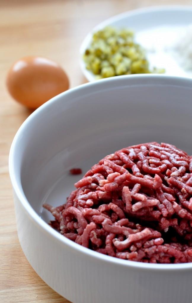 Mielone mięso wołowe na tatar