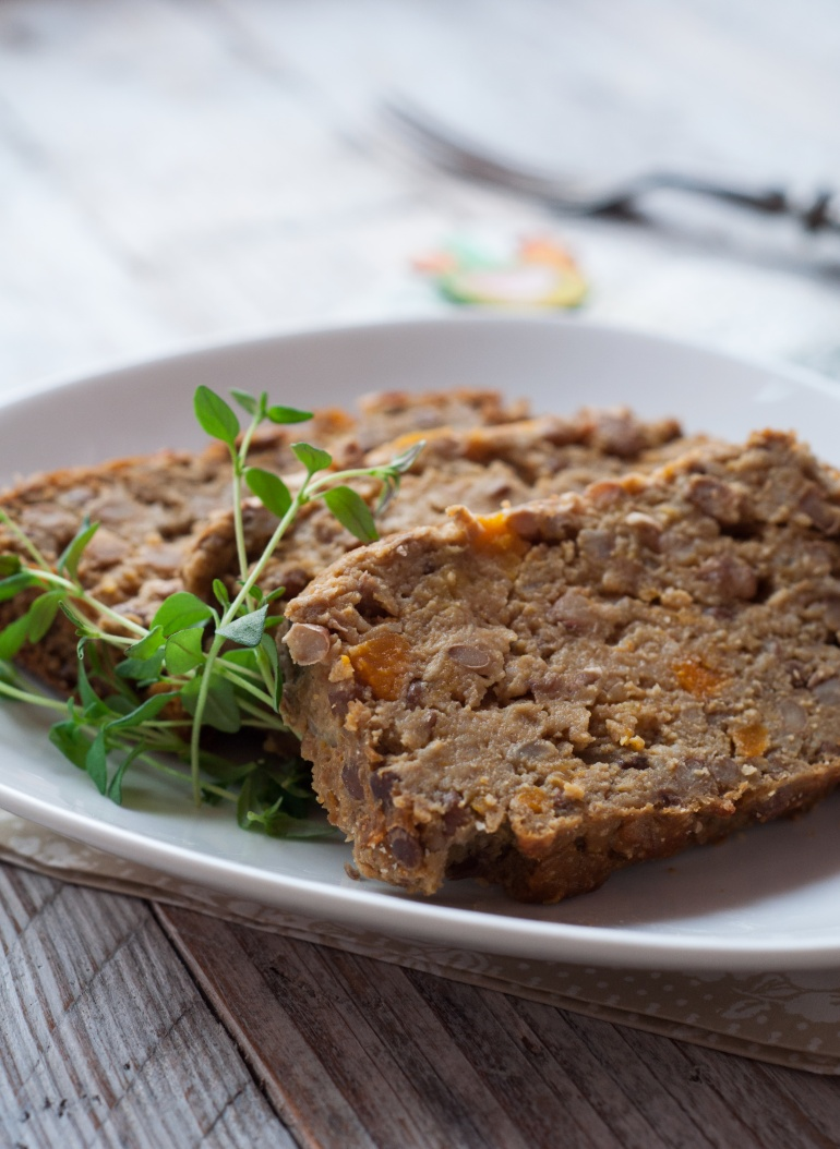 wegetariański pasztet z dyni i soczewicy (1)
