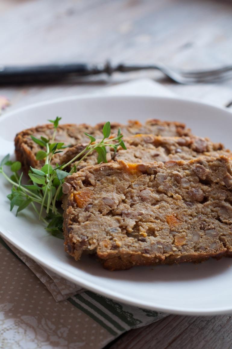 wegetariański pasztet z dyni i soczewicy (3)