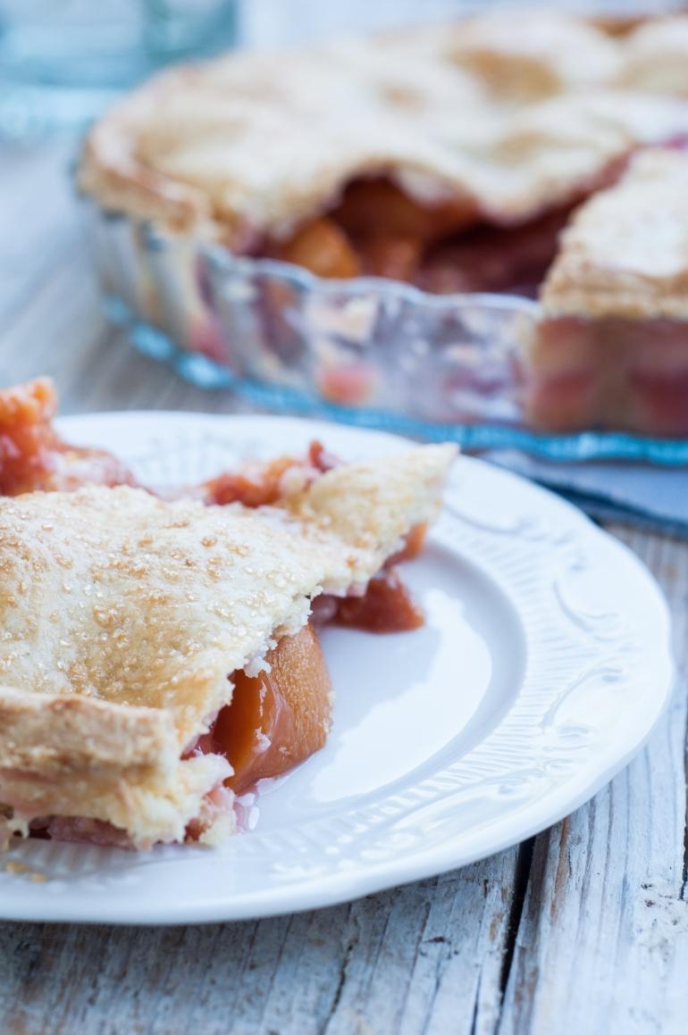 Ciasto brzoskwiniowe z truskawkami pie (4)
