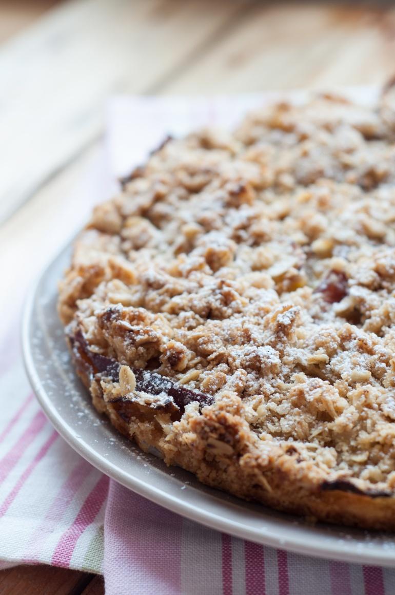Maślane ciasto z owocami i kruszonką (1)