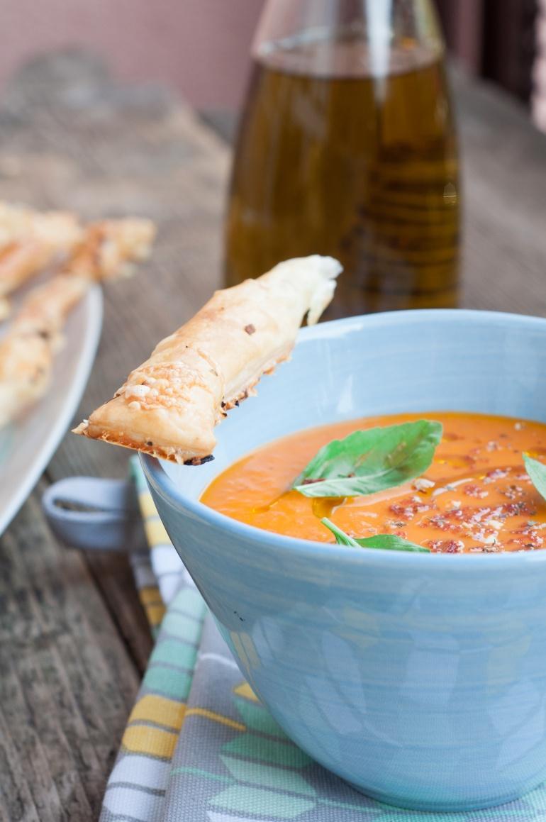 Sezonowa zupa ze  świeżych pomidorów (4)