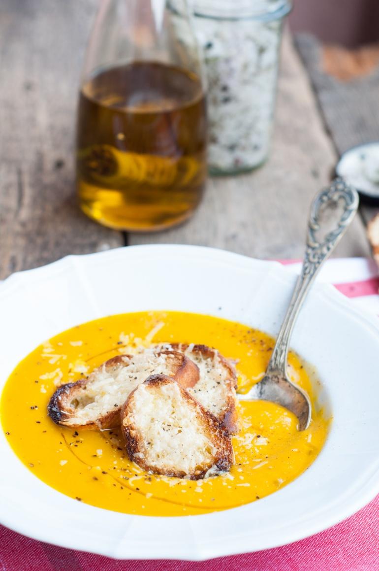Zupa krem z dyni i marchewki (5)