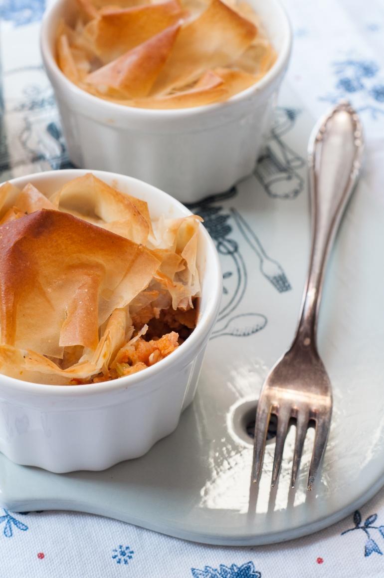 Zapiekanka mięsna z soczewicą pod chrupiącym ciastem (5)