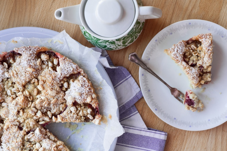 Szybkie ciasto ze śliwkami i kruszonką (10)