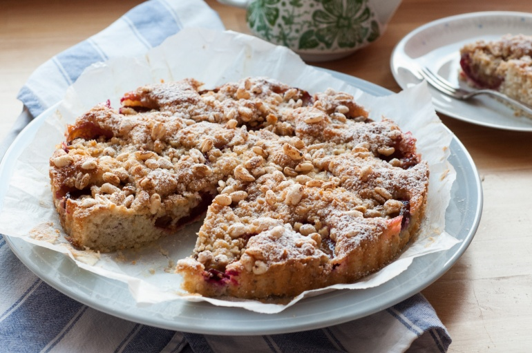 Szybkie ciasto ze śliwkami i kruszonką (2)