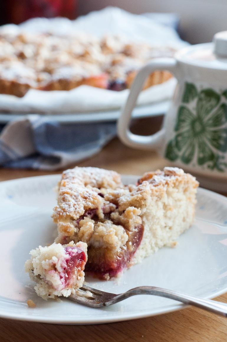 Szybkie ciasto ze śliwkami i kruszonką (9)