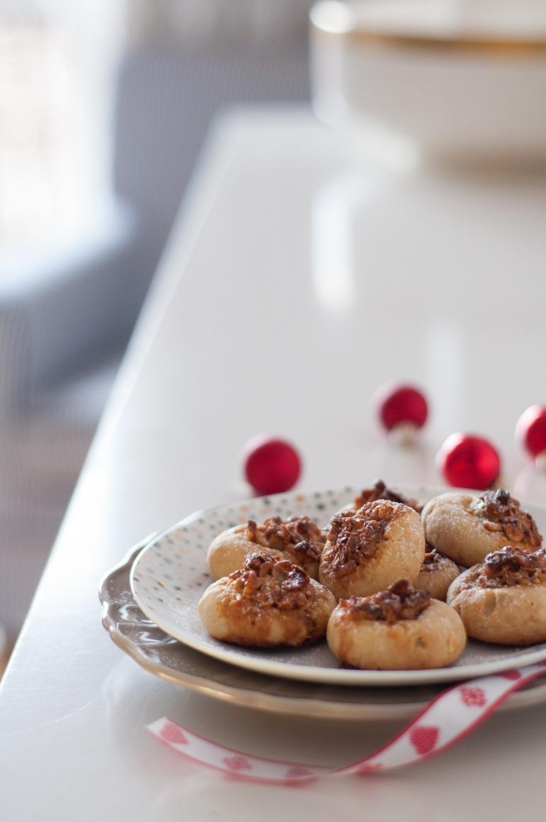 Ciasteczka  z nadzieniem orzechowym (1)