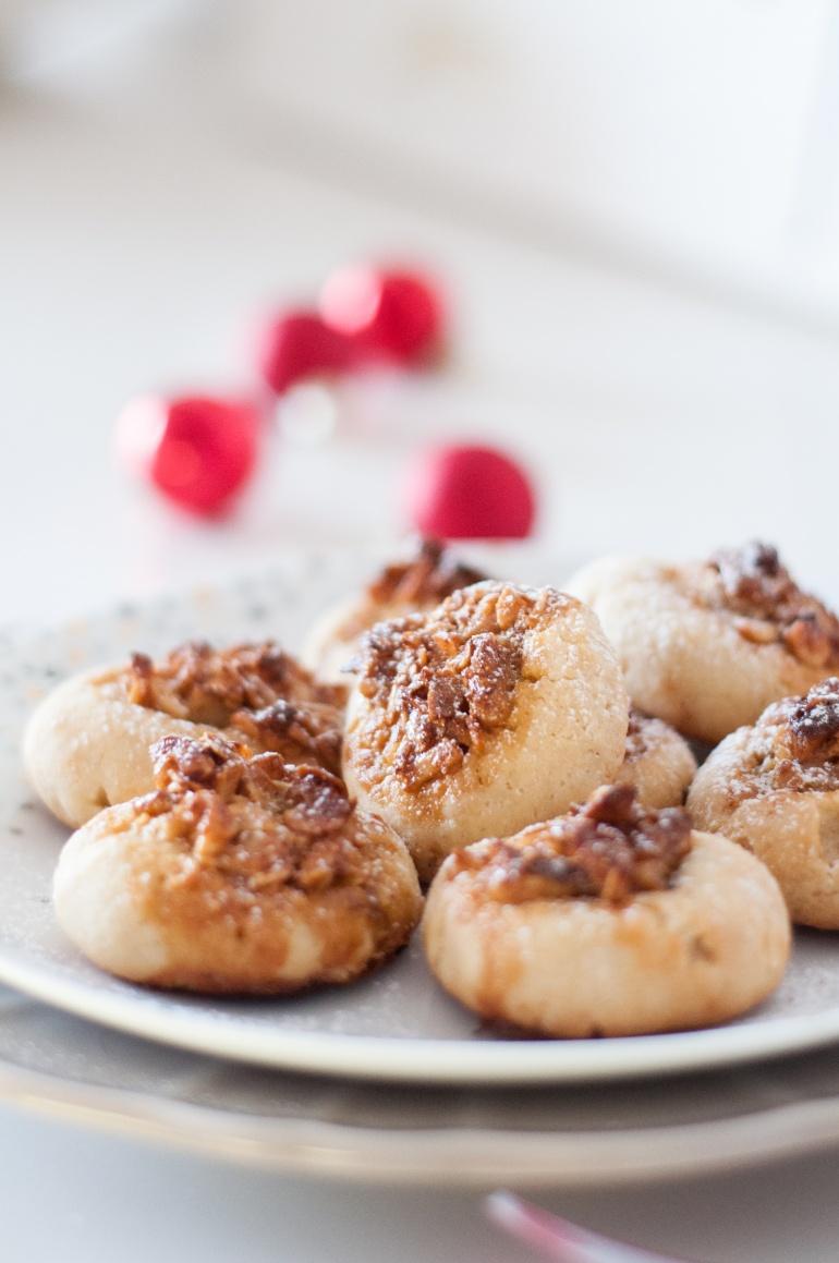 Ciasteczka  z nadzieniem orzechowym (4)