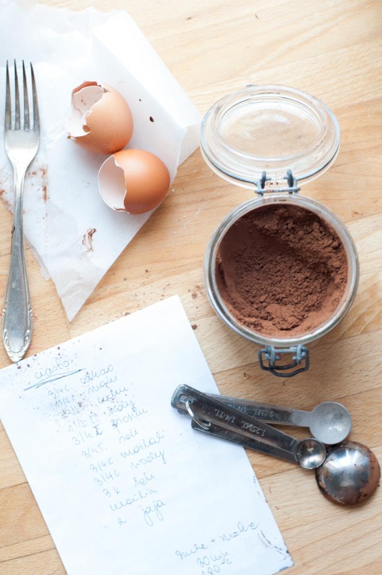 czekoladowy torcik z malinami (2)