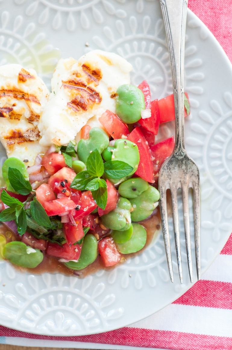 sałatka z bobu i pomidorów (1)