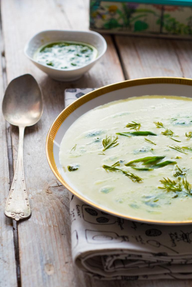 Zielona zupa warzywna (2)