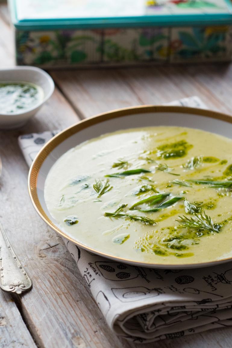 Zielona zupa warzywna (3)