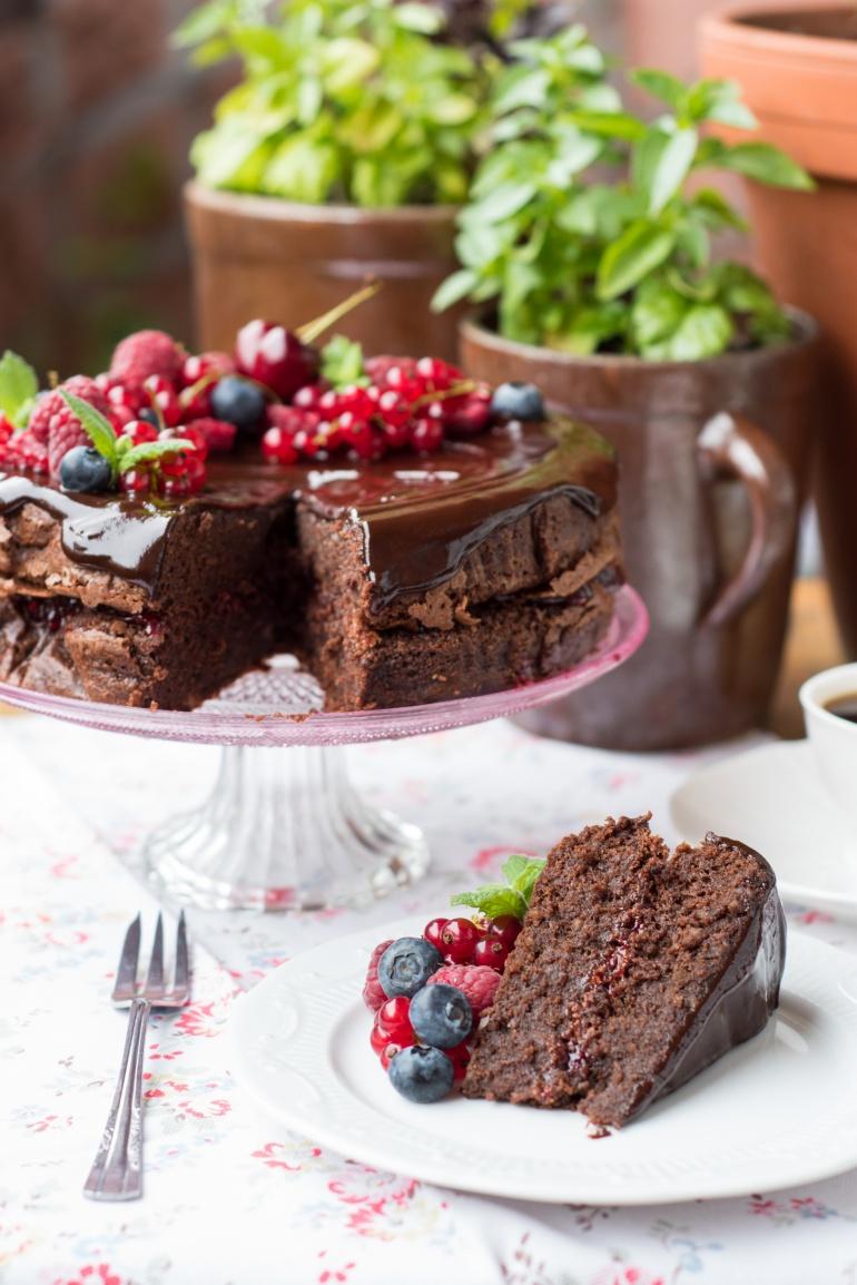 czekoladowe ciasto migdałowe (2)