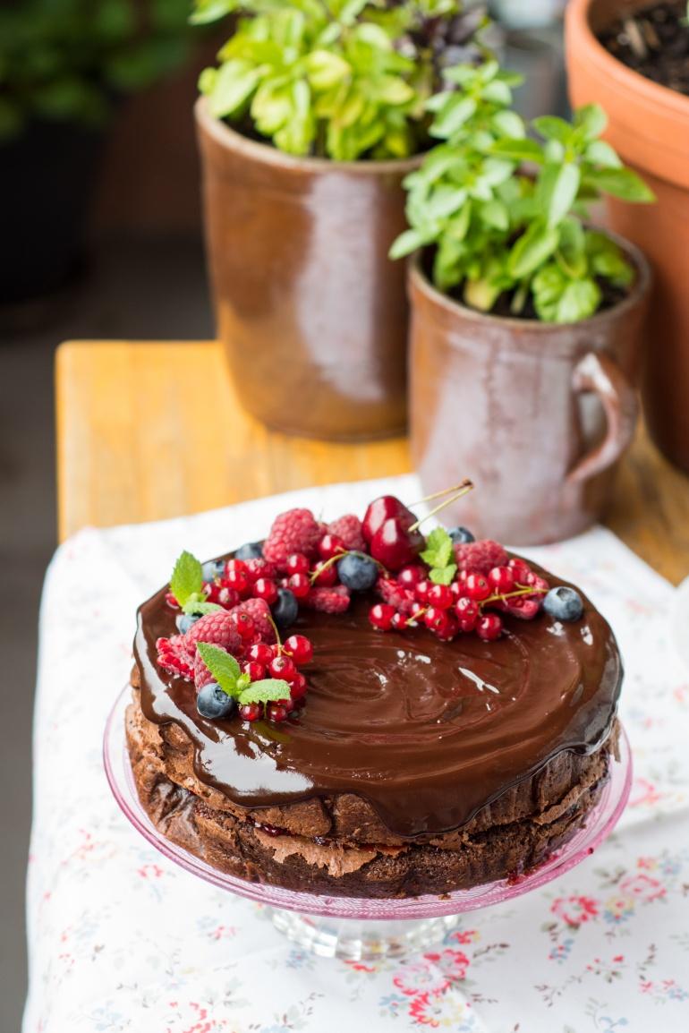 czekoladowe ciasto migdałowe (4)
