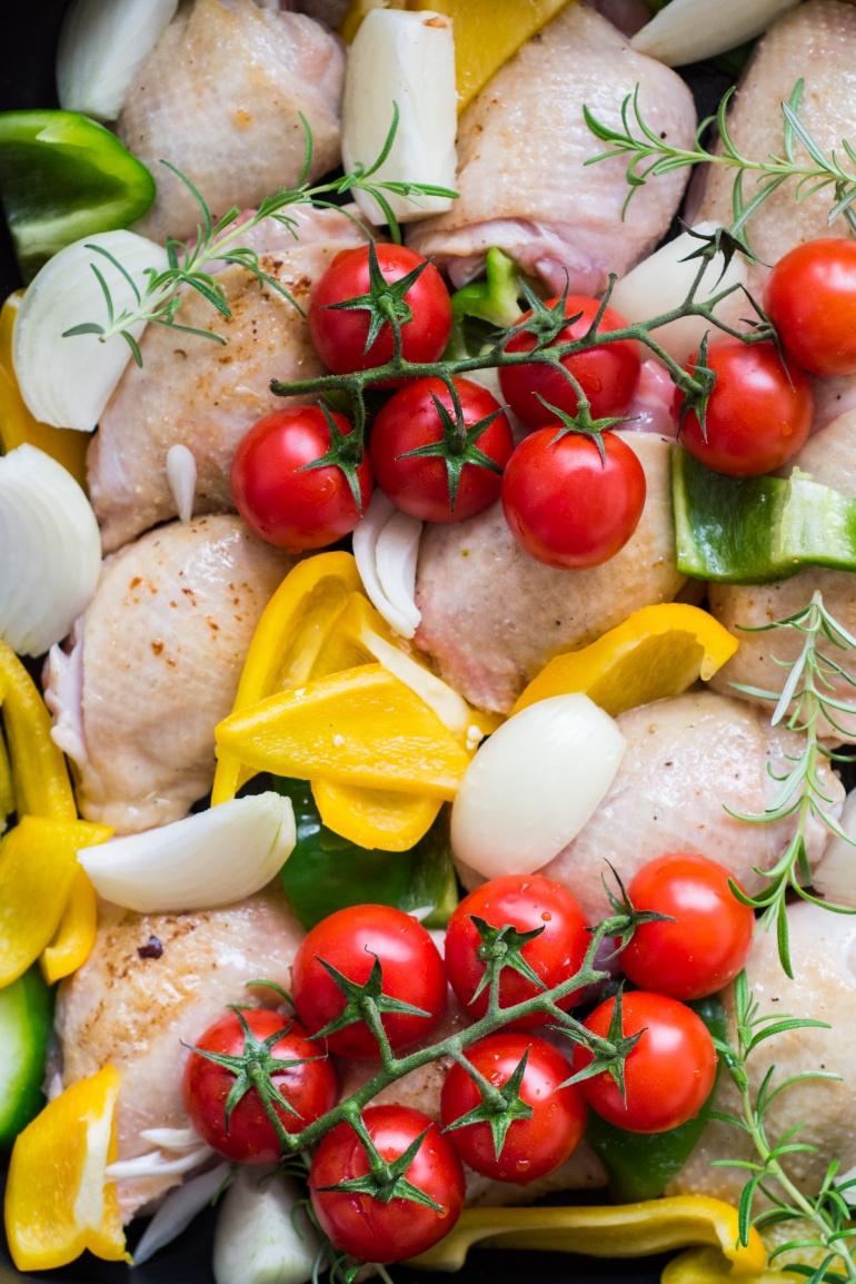 makaron z kurczakiem i warzywami (1)