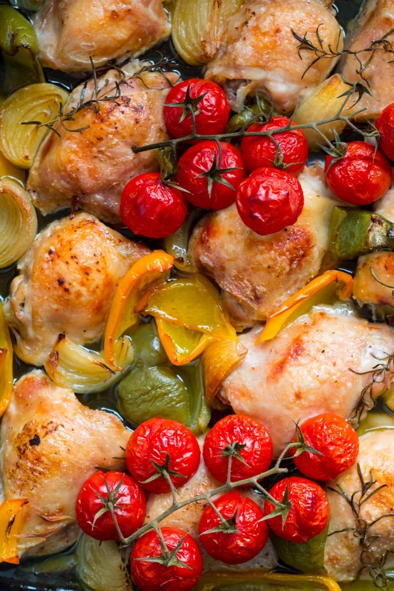 makaron z kurczakiem i warzywami (2)